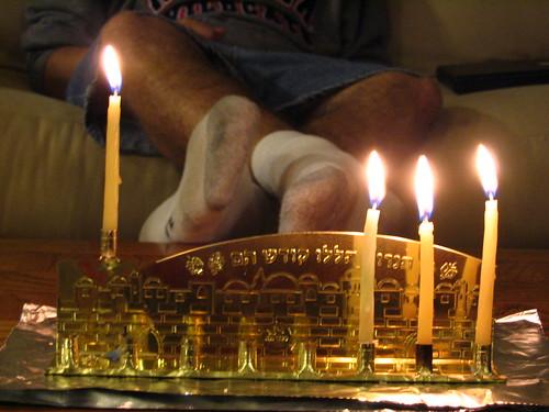 Hanukkah 2007 - Night 3