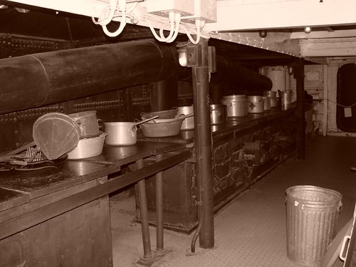 Battleship Texas Kitchen