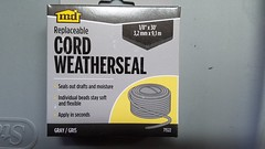 Weather Cord For Vapor Barrier