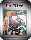 Leonetto Cappiello. Portada de la revista Le Rire.