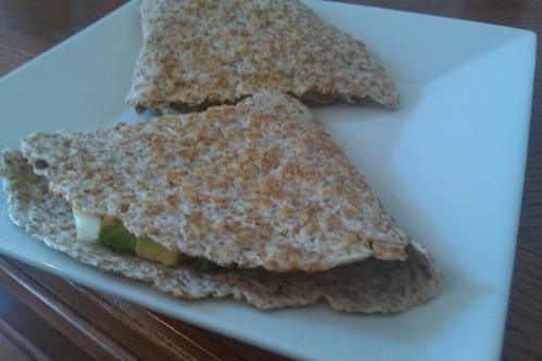 Avocado Quesadilla by bysarahrae