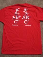 back of donation shirt