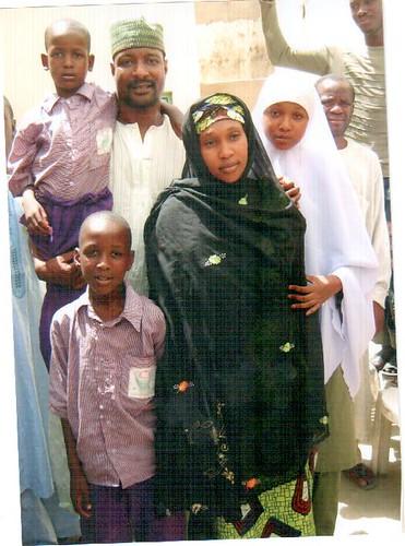 Hamisu Lamido Iyan-Tama with his family. Courtesy of freeiyantamas flickr photostream