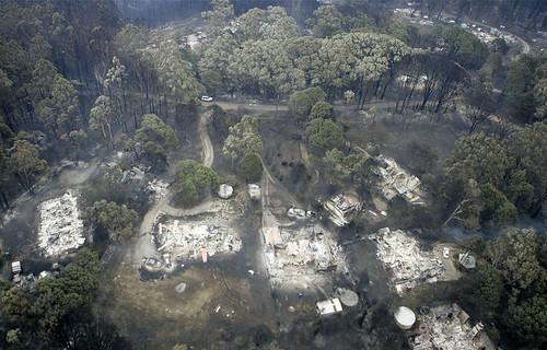 Kinglake fire devastation - Reuters/ Mike Tsikas