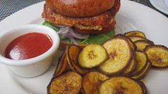 Salmon Burger - La Vuelta