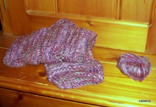 Wool left over