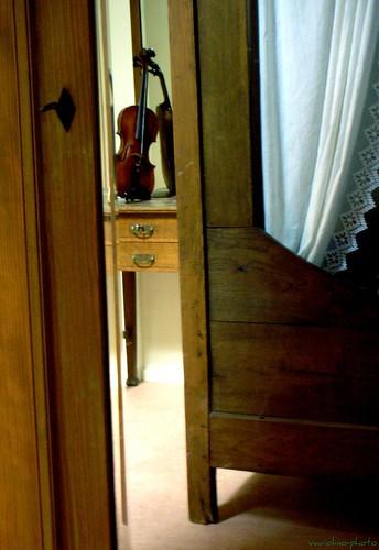 ambiece avec violon...