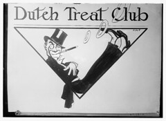 Dutch Treat Club - [cover drawing?] (LOC)