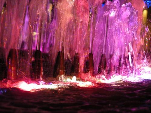red spectrum water