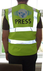 Wikinews Press Jacket - Back