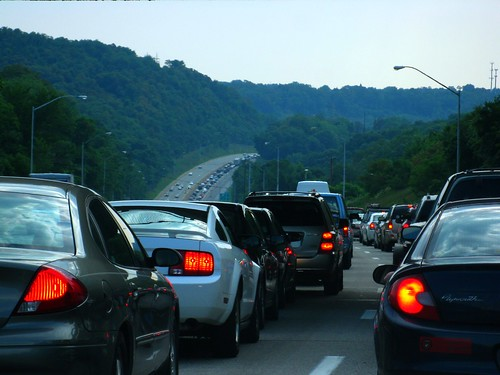 Construction Traffic on I-376