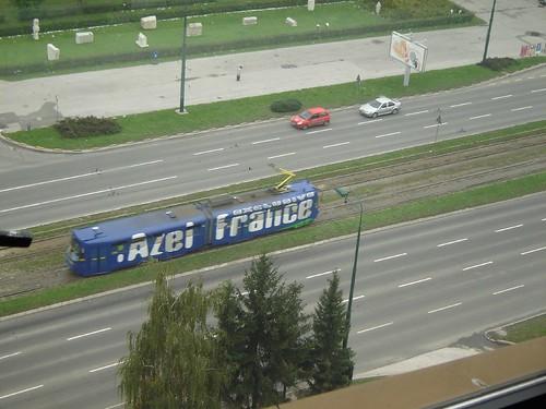 Vedere de la fereastra in Hotelul Holiday Inn in Sarajevo2