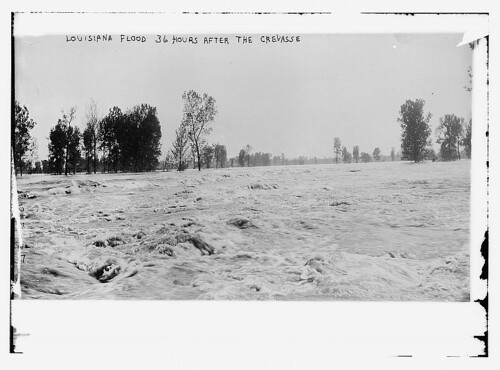 Louisiana Flood - 36 hours after the crevasse (LOC)