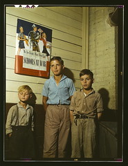Rural school children, San Augustine County, T...