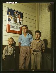 Rural school children, San Augustine County, T...