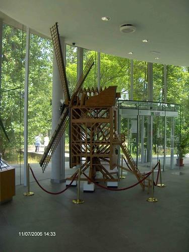 molen in museum Ter Duinenabdij
