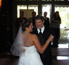 Jaime dancin' with her dad
