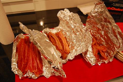 Bacon buffet