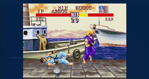 Street Fighter - Ken Uppercut