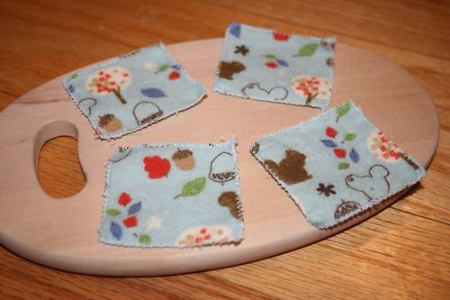 Cotton flannel squares