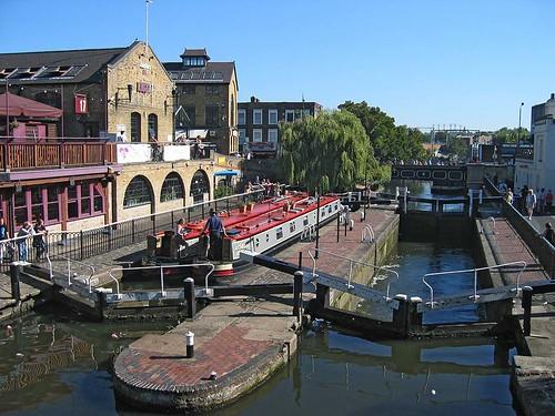 Esclusas en Regent's Canal