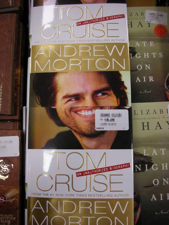 Tom Cruise without a nose