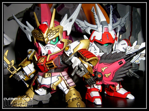 CaoCao Gundam & SiMa Yi Sazabi