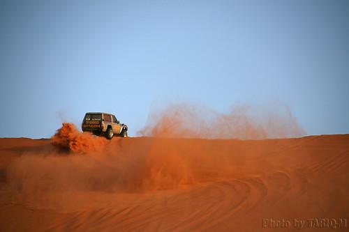 Adventure in the sand  تطعيس بام دكة by TARIQ-M