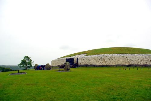 Newgrange and standing stones