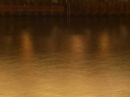 Lights on Chicago River