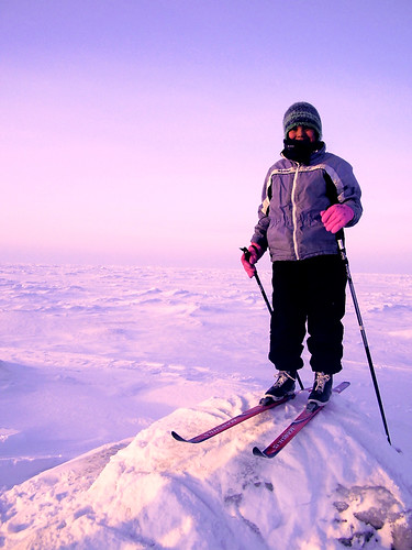Skiing at the Edge of the World