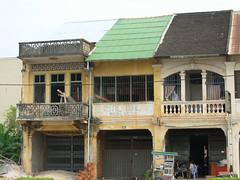 Kampot shophouses