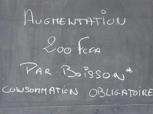 La vie chere via Ouagadounews