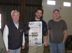Dick Skyes, Chris Soltis, Ed McGuinness - Making Headlines in the CT Post