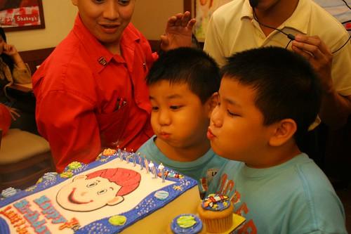Happy 7th Birthday Justin and Lance