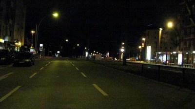Berlin Streets at night