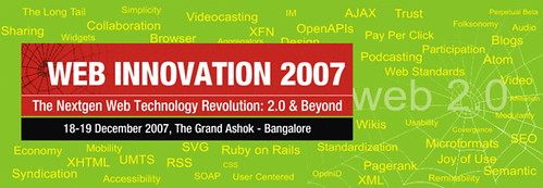 WebInnovation 2007 Conference