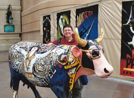 Elvis Cow