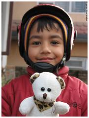 Tutu and the birthday boy by Gaurav Dhwaj Khadka