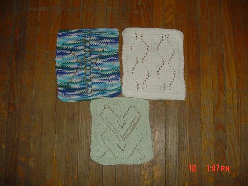 Arctic Lace Dishcloths