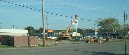 KFC/Taco Bell. Dead October 2007. Franklin, VA