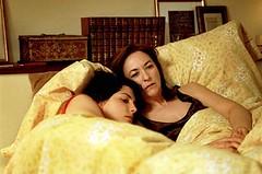Mujeres en la cama