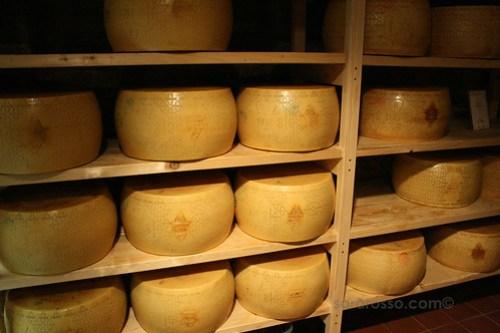 Eataly - Inside the cantina, Parmigiano Reggiano