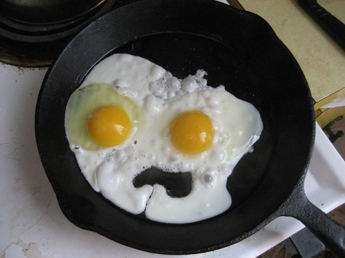 egg faced monster