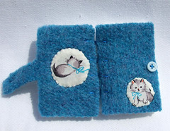 Little Kitten Needle Book Front & Back