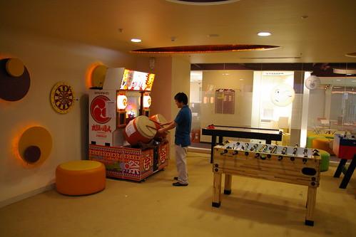 Yahoo! Taiwan Game room