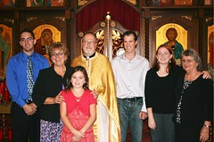 Family at elevation to archpriest