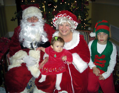 Beatrice and Mr. & Mrs. Claus 2007