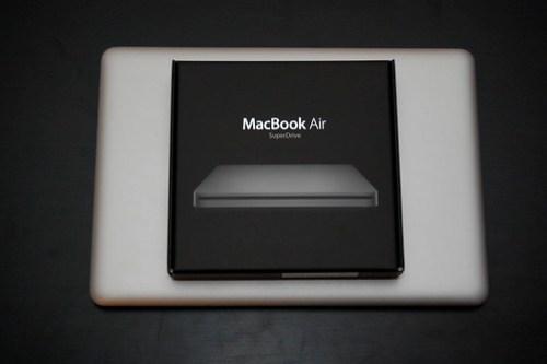 MacBook Air and SuperDrive