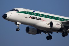 Alitalia Express Embraer ERJ-170-100LR EI-DFK Via Salaria (1273)
